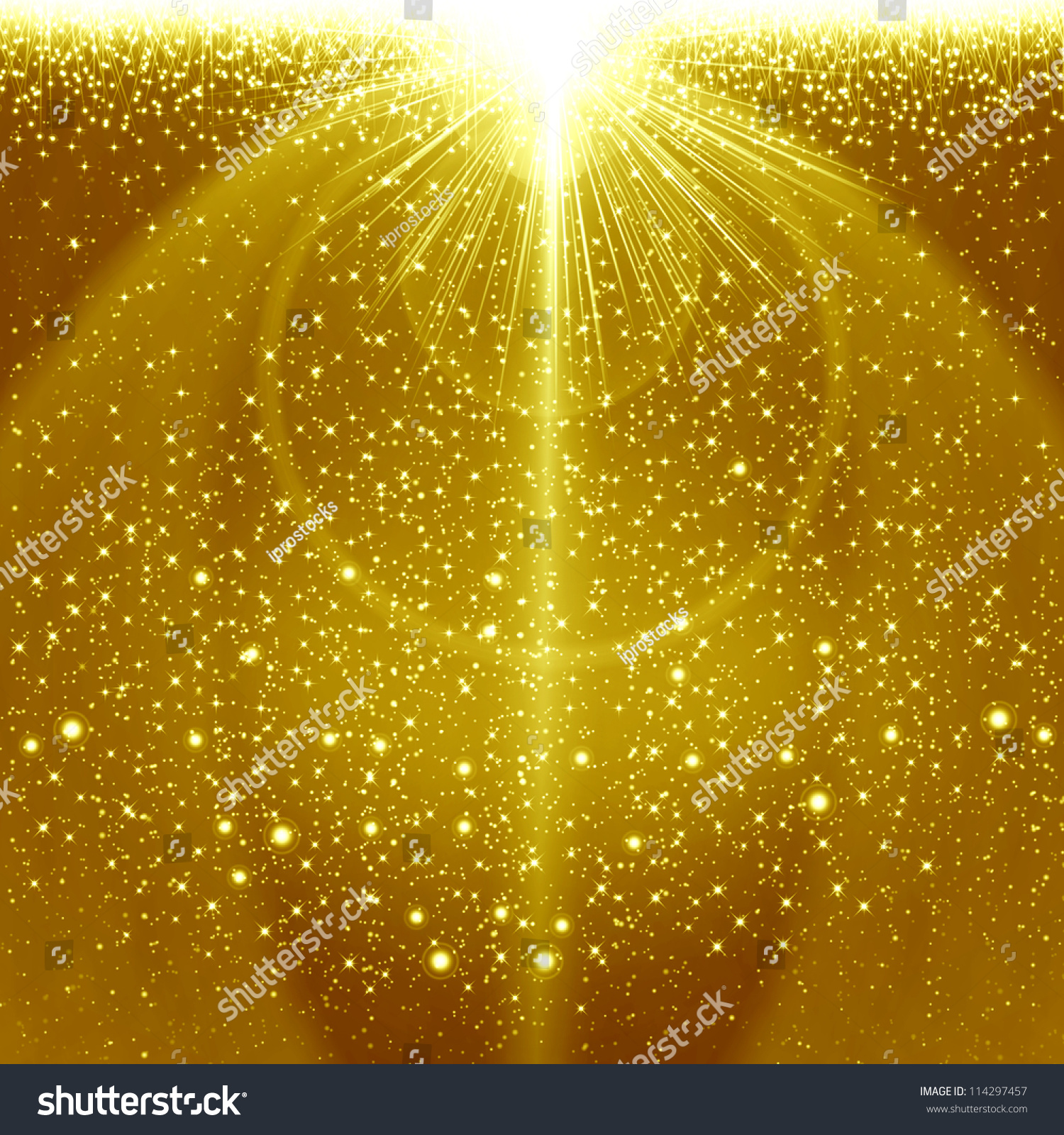 golden christmas background with - photo #33