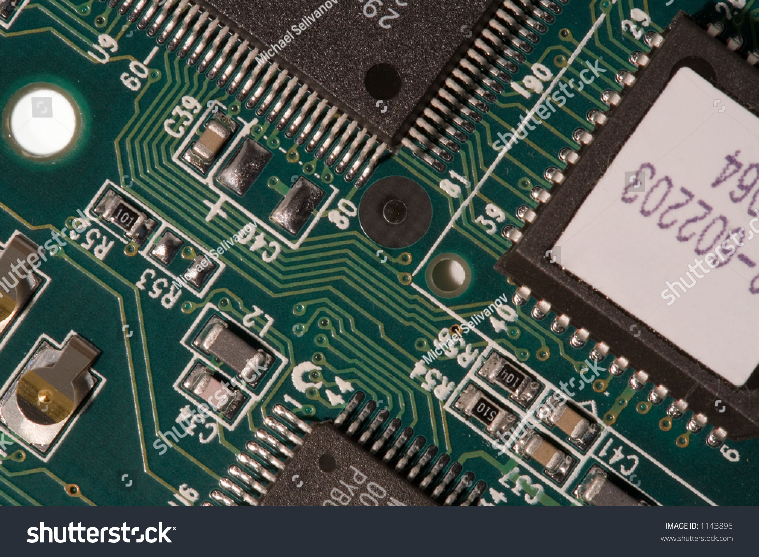 Printed Circuit Board Macro Stock Photo Edit Now 1143896 Photos Images Pictures Shutterstock