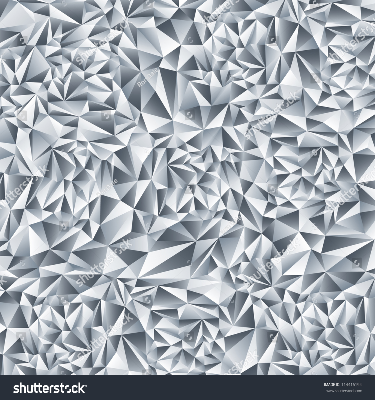 Abstract Crystal Background Diamond Pattern Stock Vector