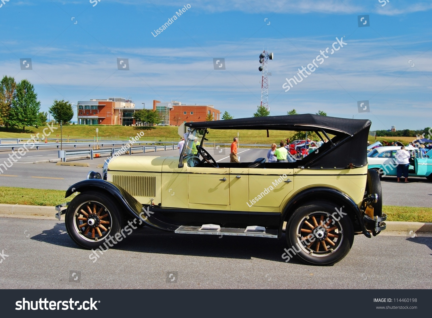 Frederick Md September 16 1930 Ford T Touring On Sept 16 2012 In Frederick Md Usa