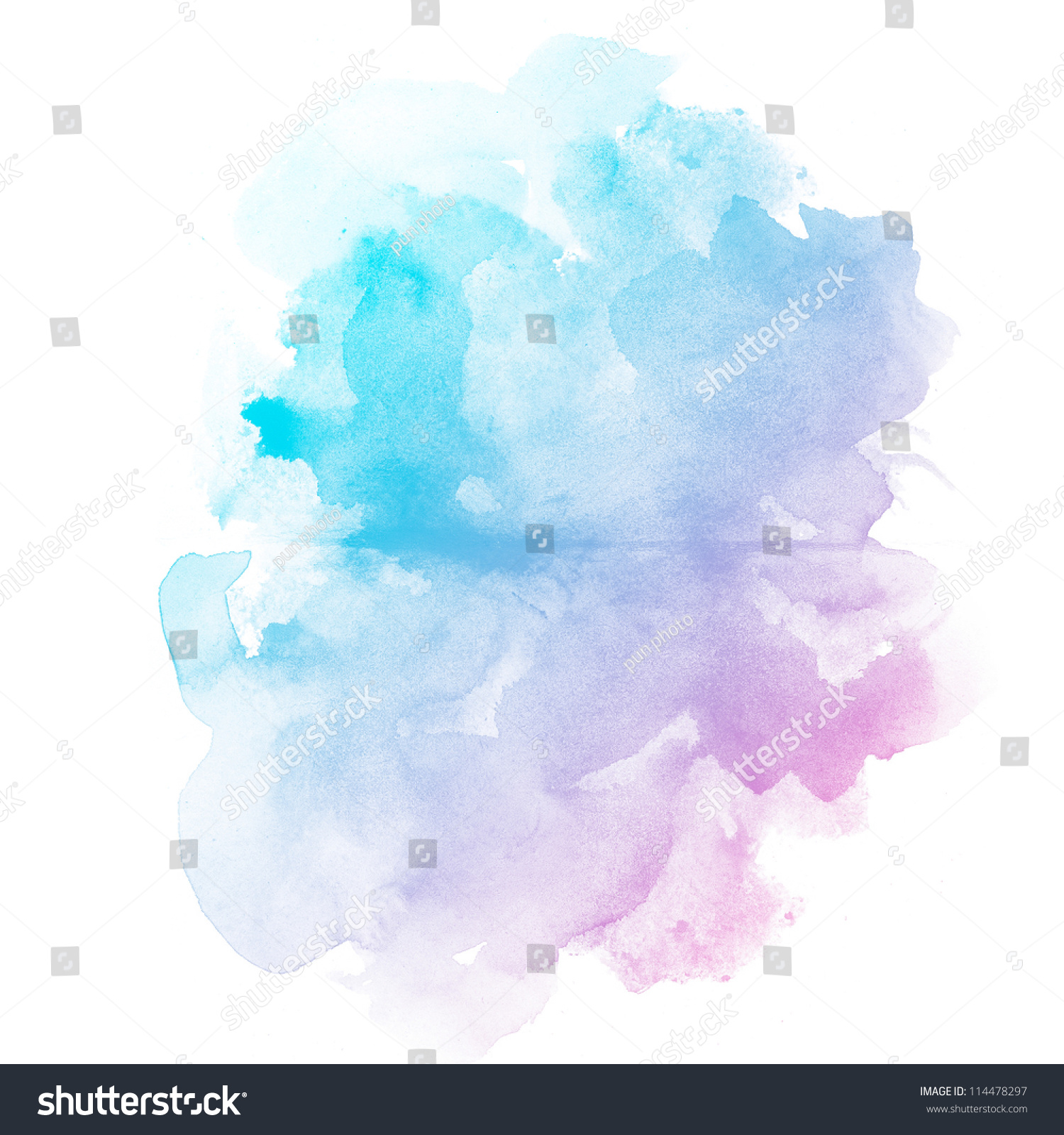 Abstract watercolor art hand paint on stock illustration for Watercolor paintings of hands