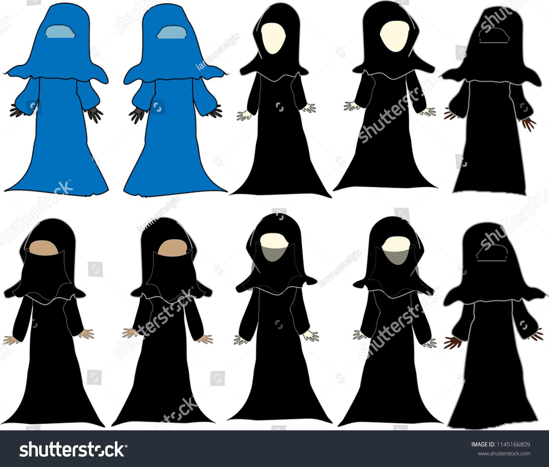 Beautiful Afghanistan Burka Hijab Niqab Chador Muslim Women Dress Islamic Veil