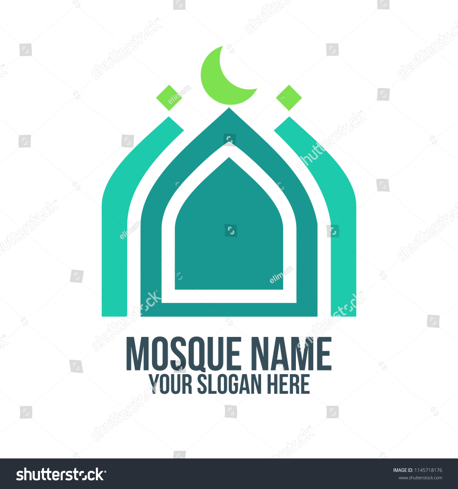 mosque muslim islam abstract concept logo stock vector royalty free 1145718176 https www shutterstock com image vector mosque muslim islam abstract concept logo 1145718176