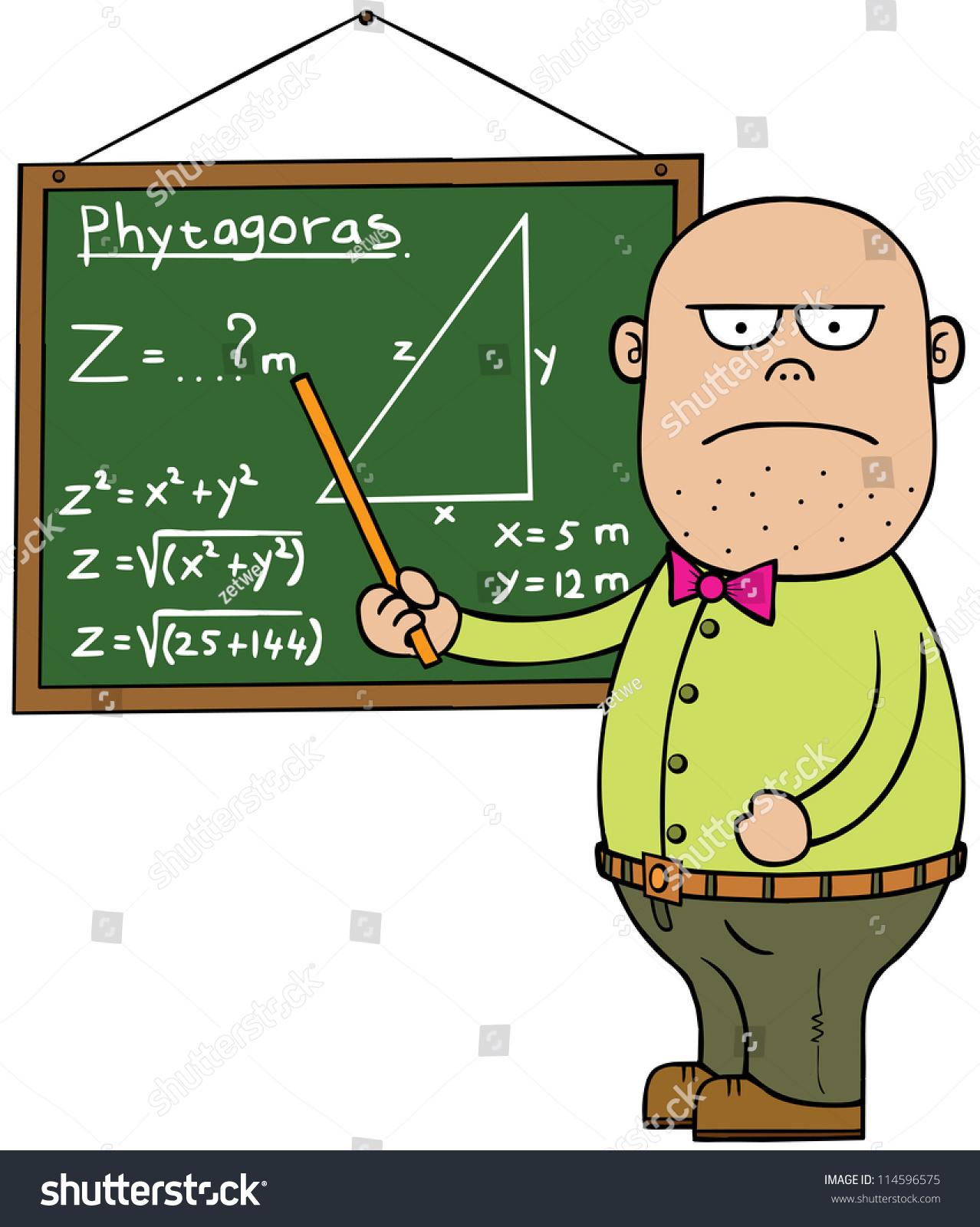 Gallery For > Mad Math Teacher Clipart