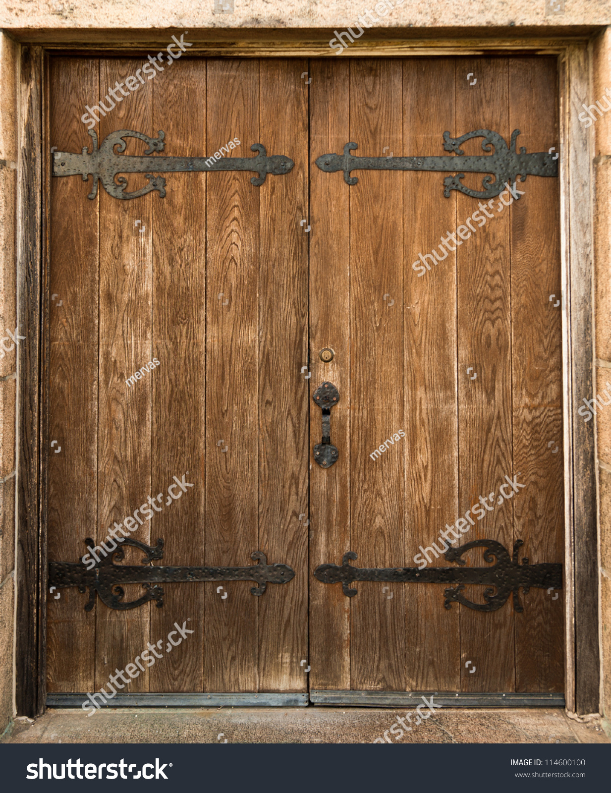 Antique Door Stock Photo 114600100 Shutterstock