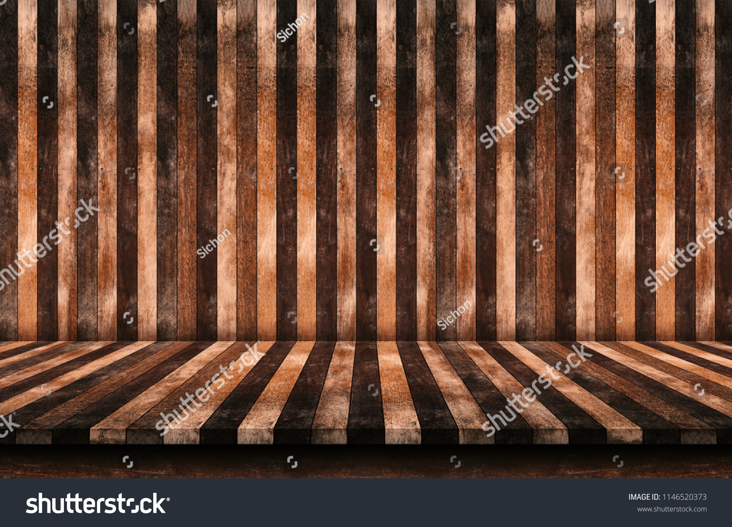 Wandplank Retro Cubes.Empty Wooden Tabletop Plank Natural Background Stock Photo Edit Now