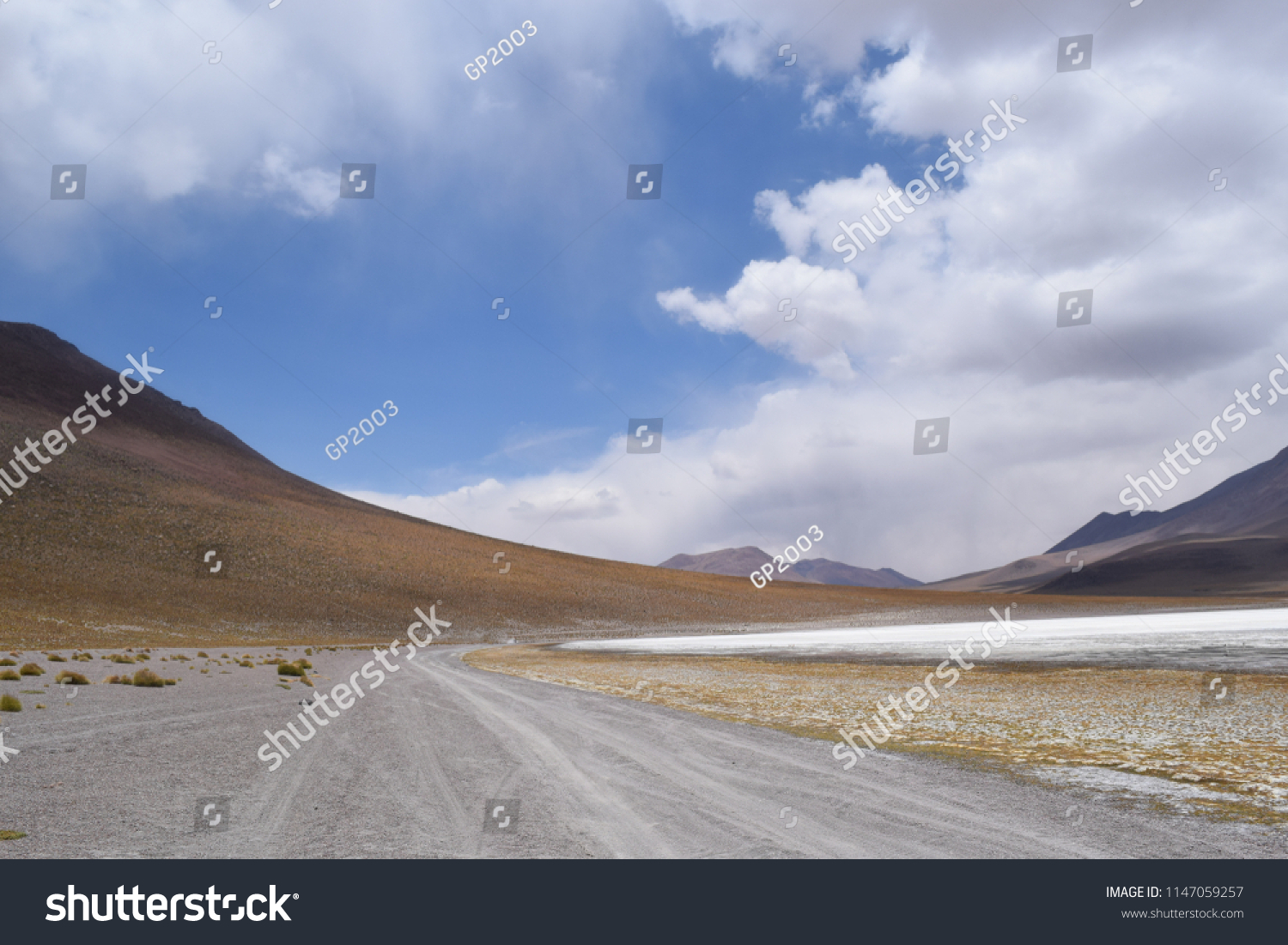 Bolivia Andes Mountains Stock Photo Edit Now 1147059257