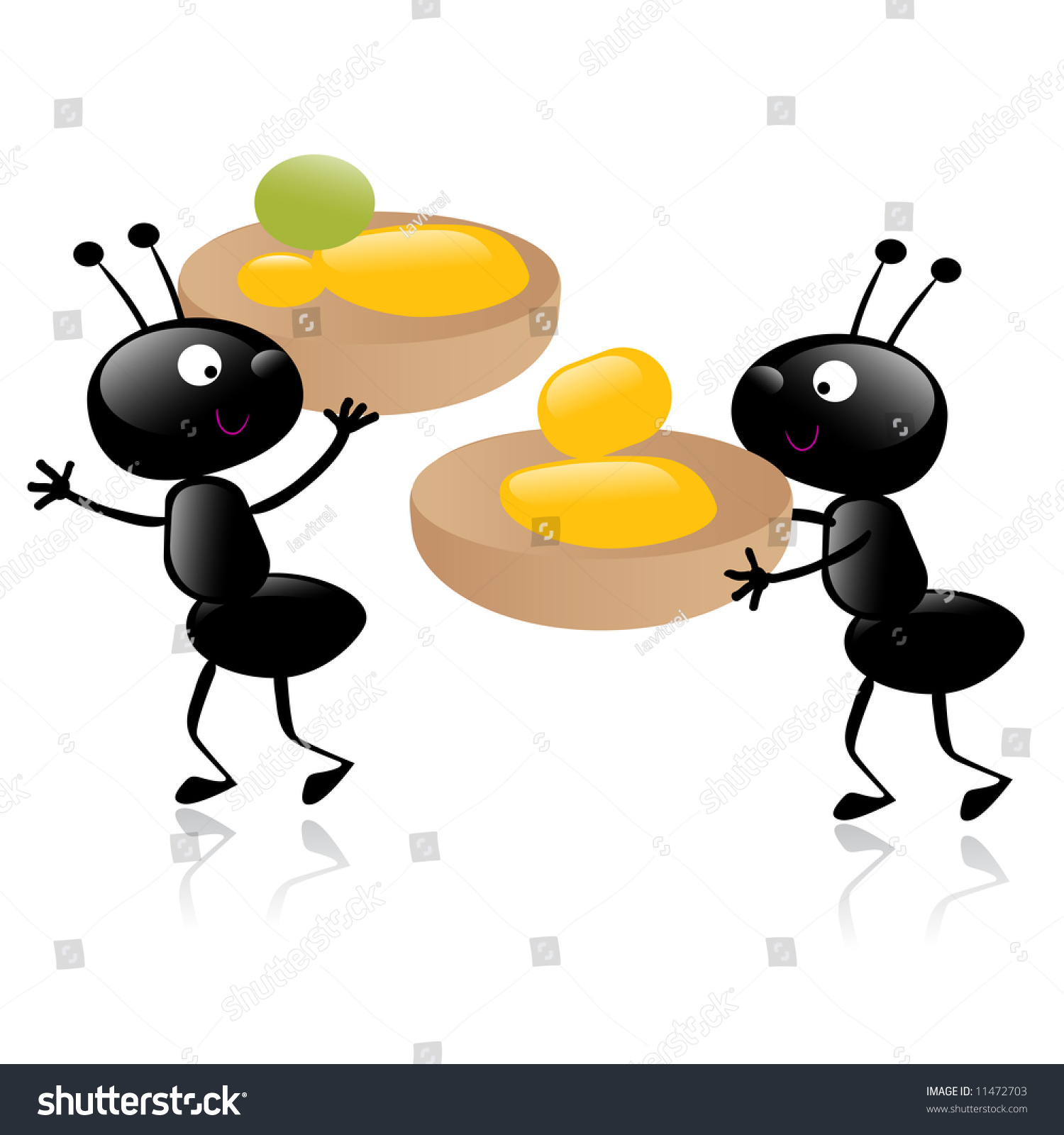 two little hardworking ants carrying their stock vector wood grain texture clipart wood grain clip art images