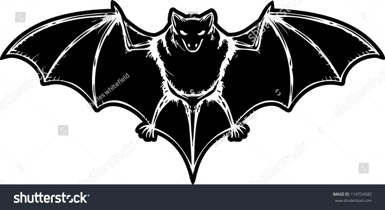 bat drawing vector stock vector royalty free 114754582 shutterstock