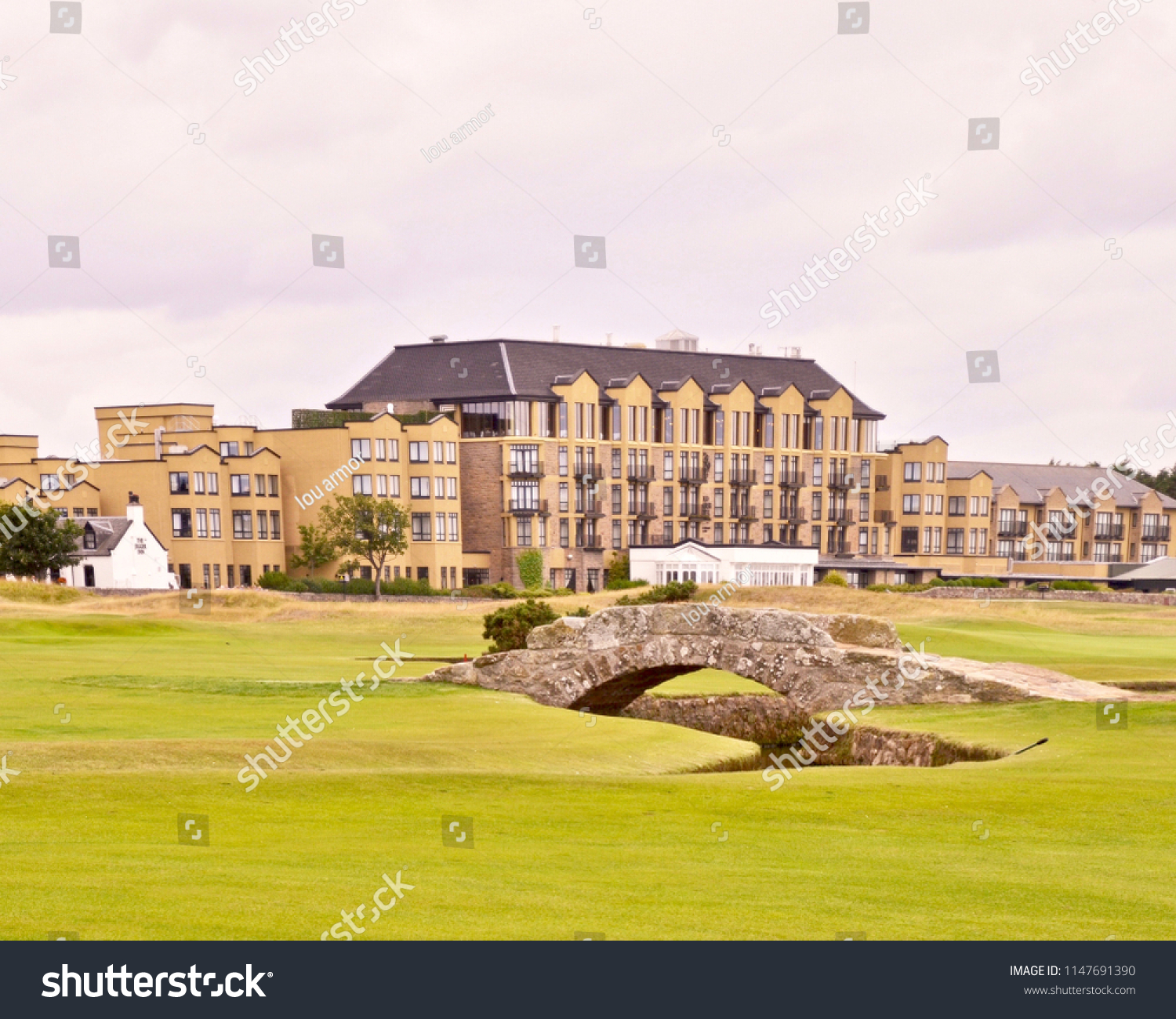 Old Course Hotel Golf Resort Spa Stock Photo Edit Now 1147691390