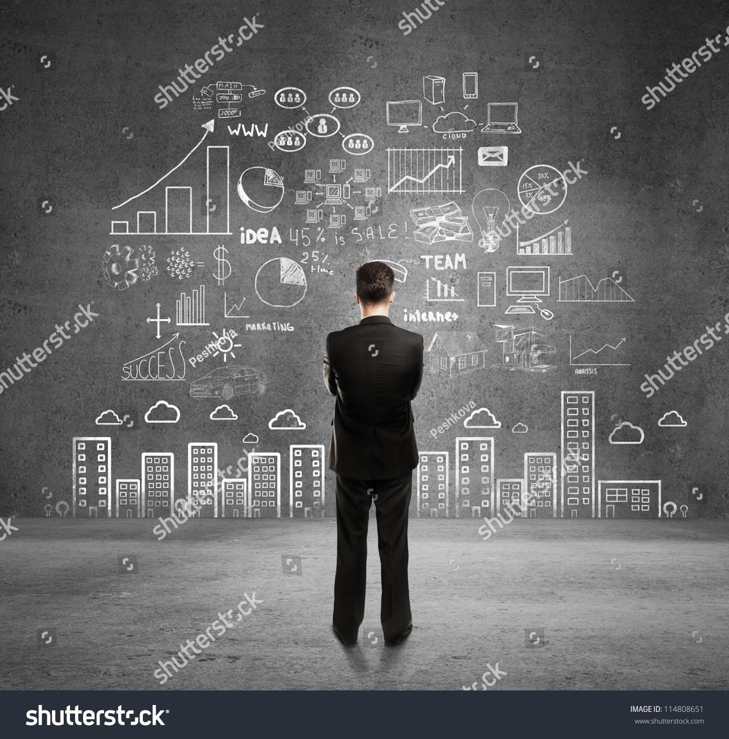 business wallpaper hd black