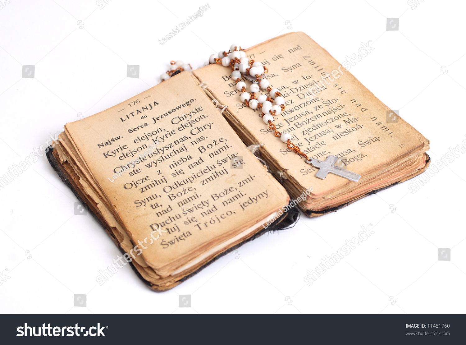 Open Old Holy Bible Cross Stock Photo 11481760 - Shutterstock