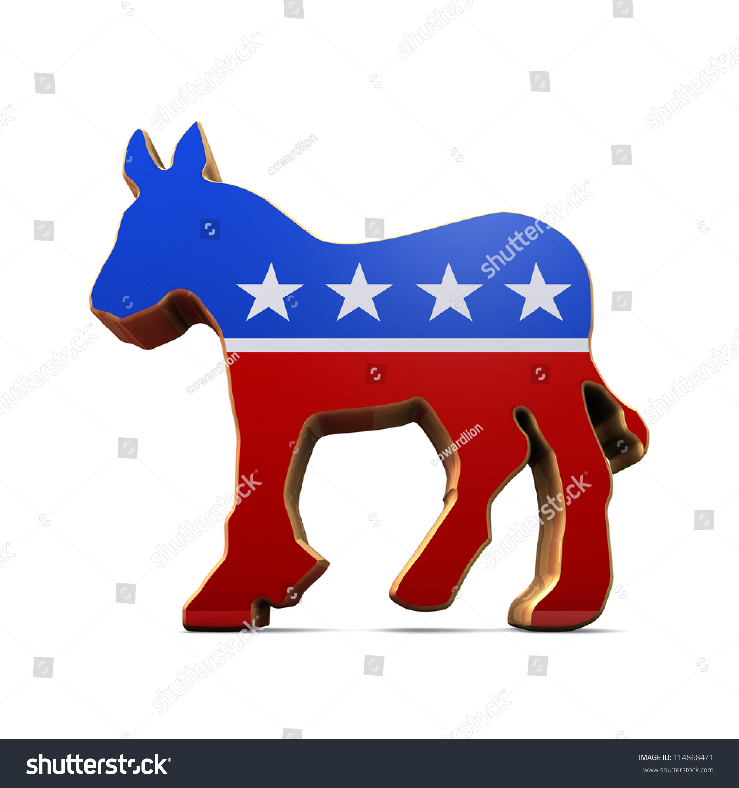 Isolated democrat party symbol stock illustration 114868471 isolated democrat party symbol biocorpaavc Image collections