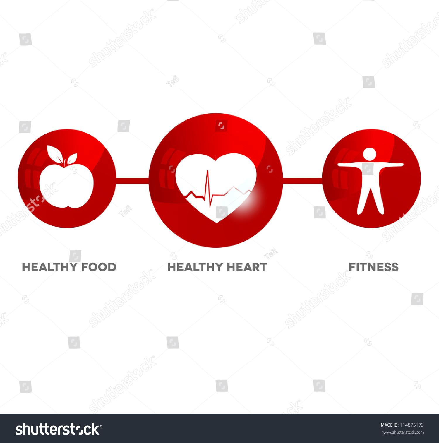 Heart Healthy Food Icon
