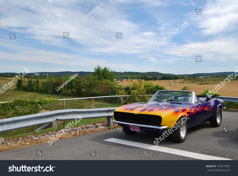 frederick md september 161967 chevrolet camaro stock photo