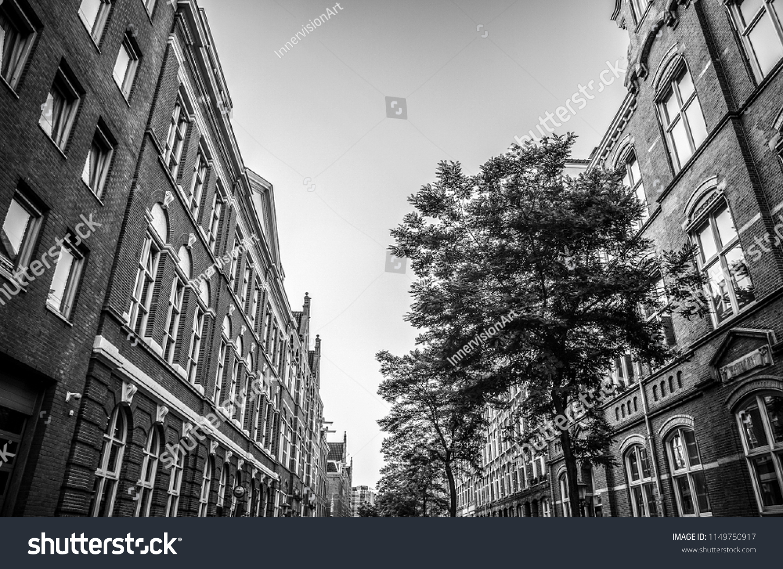 Netherlands utrecht may 27 2017 modern city architecture black white