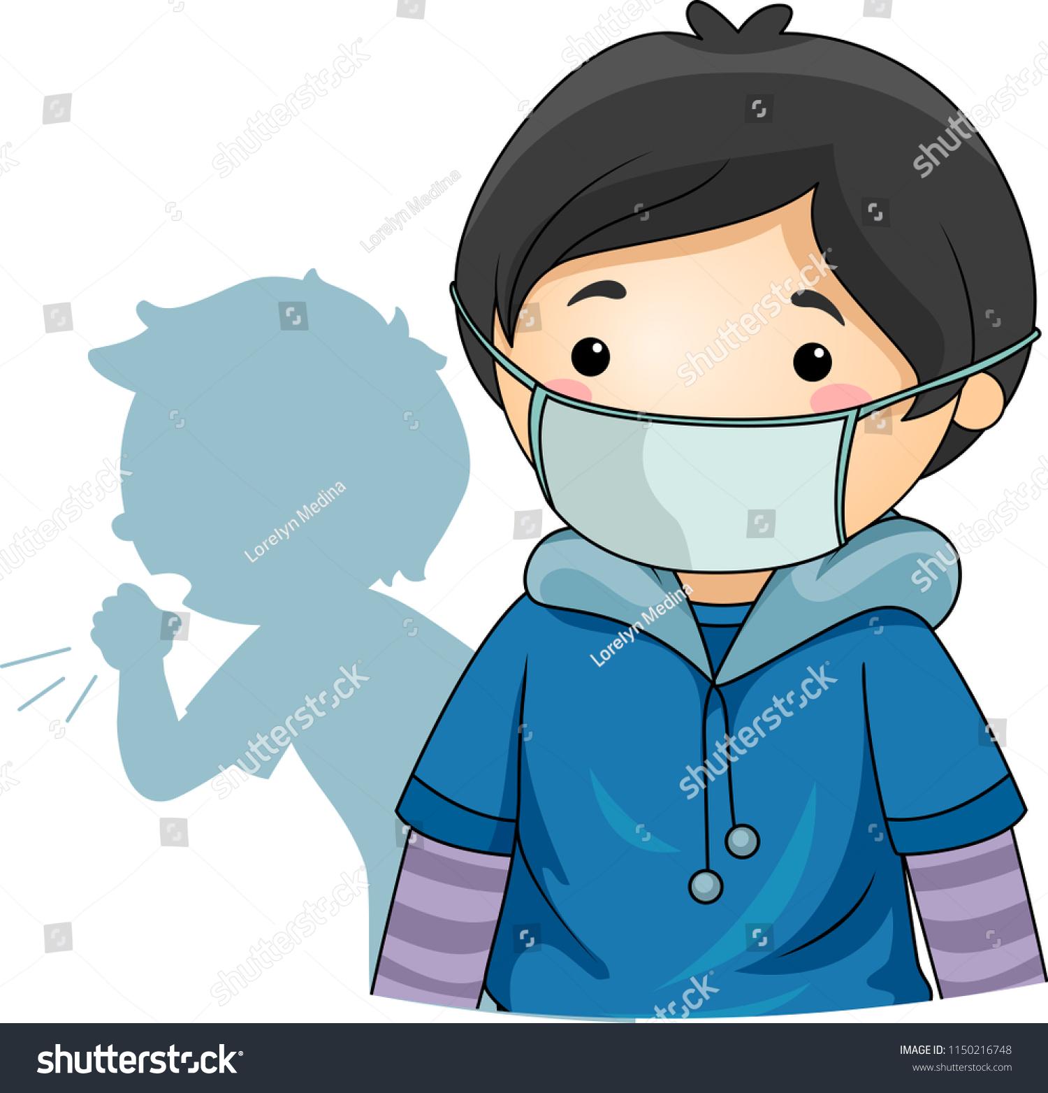mask virus kids