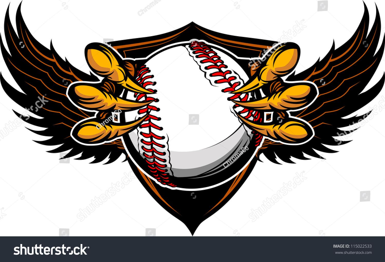 Baseball Heart Images Stock Photos amp Vectors  Shutterstock