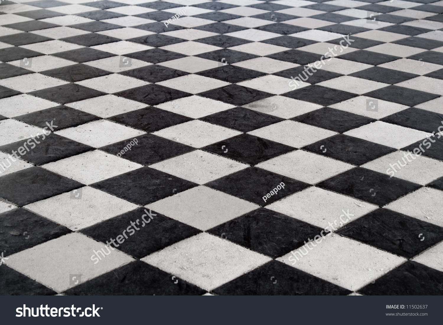 Medieval black white tiled floor stone stock photo 11502637 a medieval black and white tiled floor stone texture shot at the chenonceau dailygadgetfo Gallery