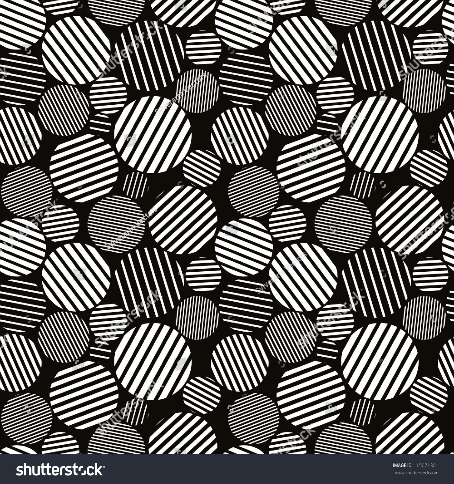 Line Texture Black And White : Seamless pattern black white abstract lines stock vector