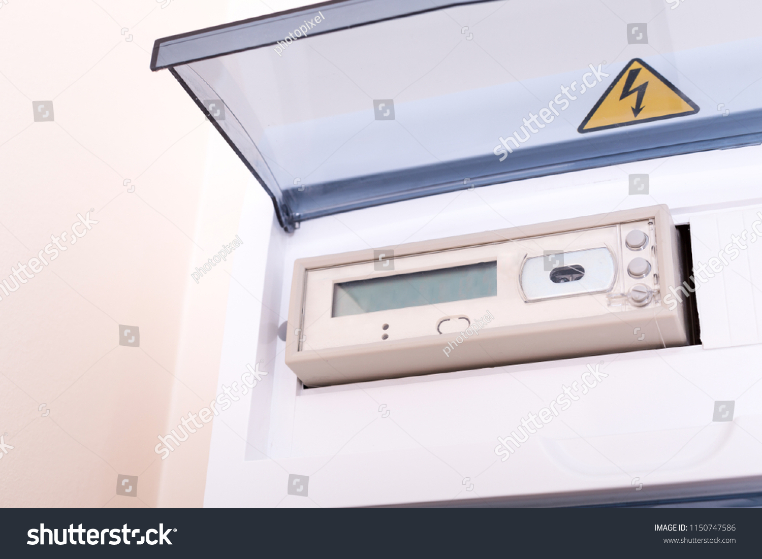 Rcd Circuit Breaker Board Fusebox Apartment Stock Photo Edit Now Fuse Box At The Nobody