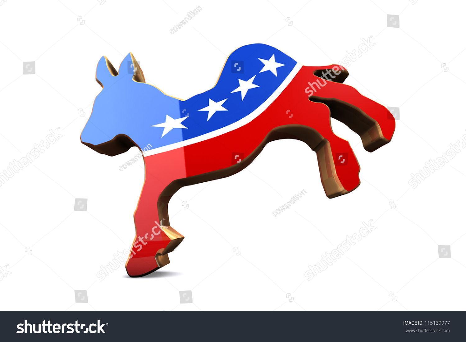 Isolated democrat party symbol stock illustration 115139977 isolated democrat party symbol biocorpaavc Image collections