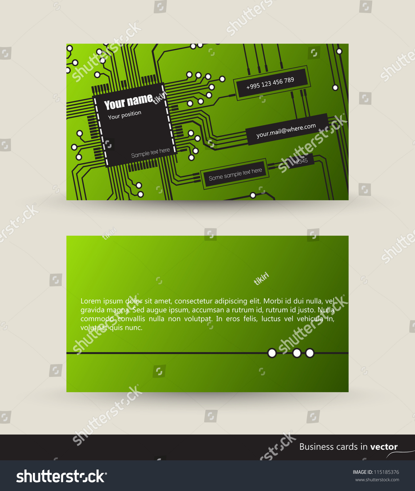 Music business card audio waveforms front stock vector 115185376 music business card with audio waveforms front and back side vector eps 10 magicingreecefo Image collections