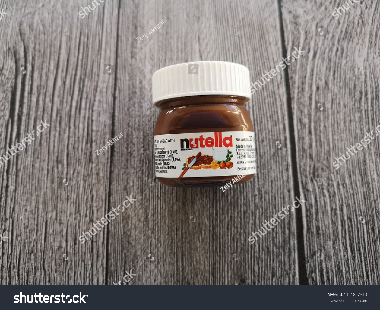 Klang Malaysia 4 August 2018 Nutella Stock Photo (Edit Now
