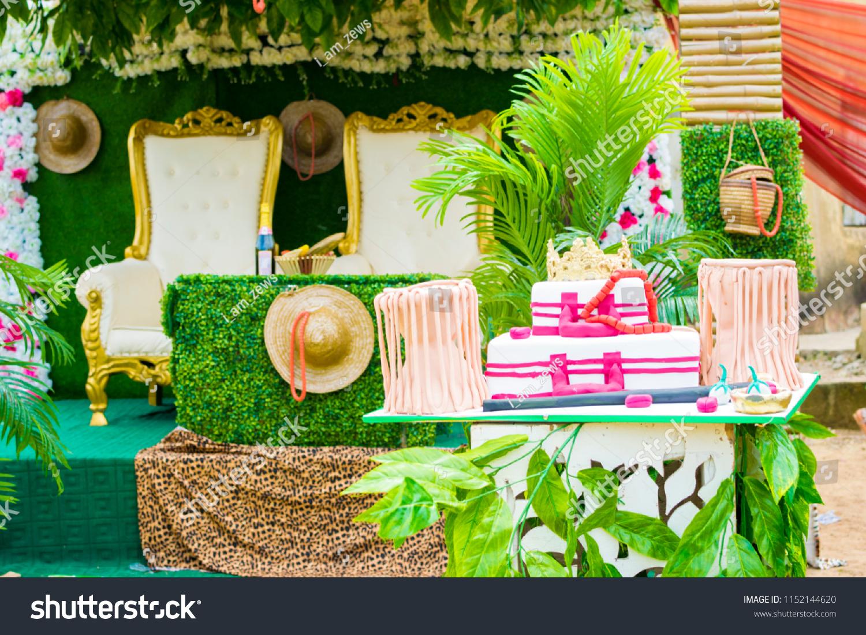 Traditional Wedding Decoration Edo Tribe Nigeria | People Stock Image  1152144620