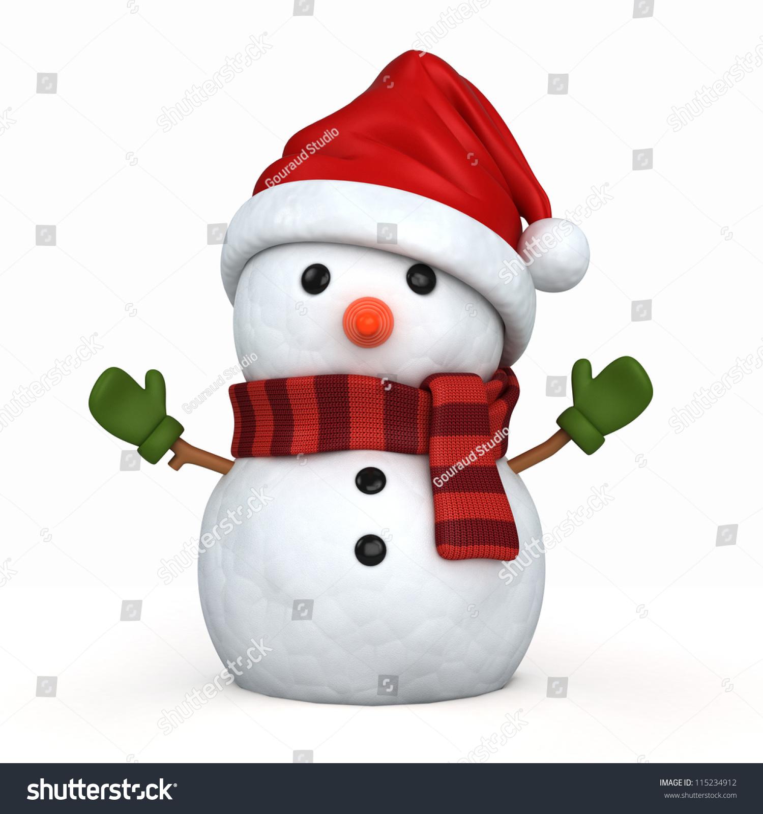 christmas hat render