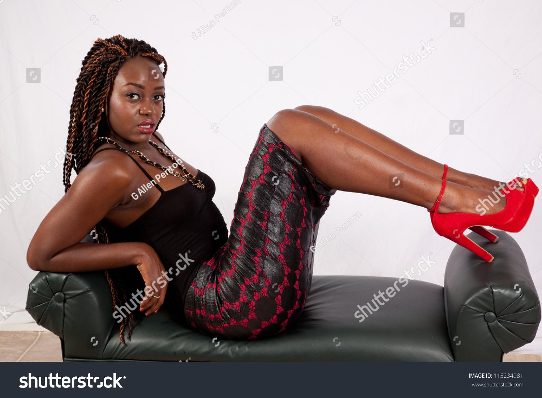 Black women with sexy feet