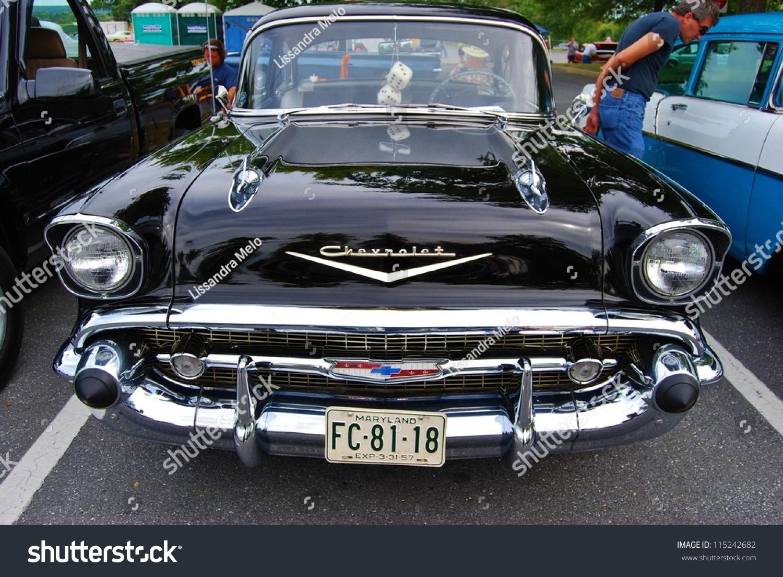 Frederick md september 16 1957 black chevrolet bel air for Motor vehicle administration md
