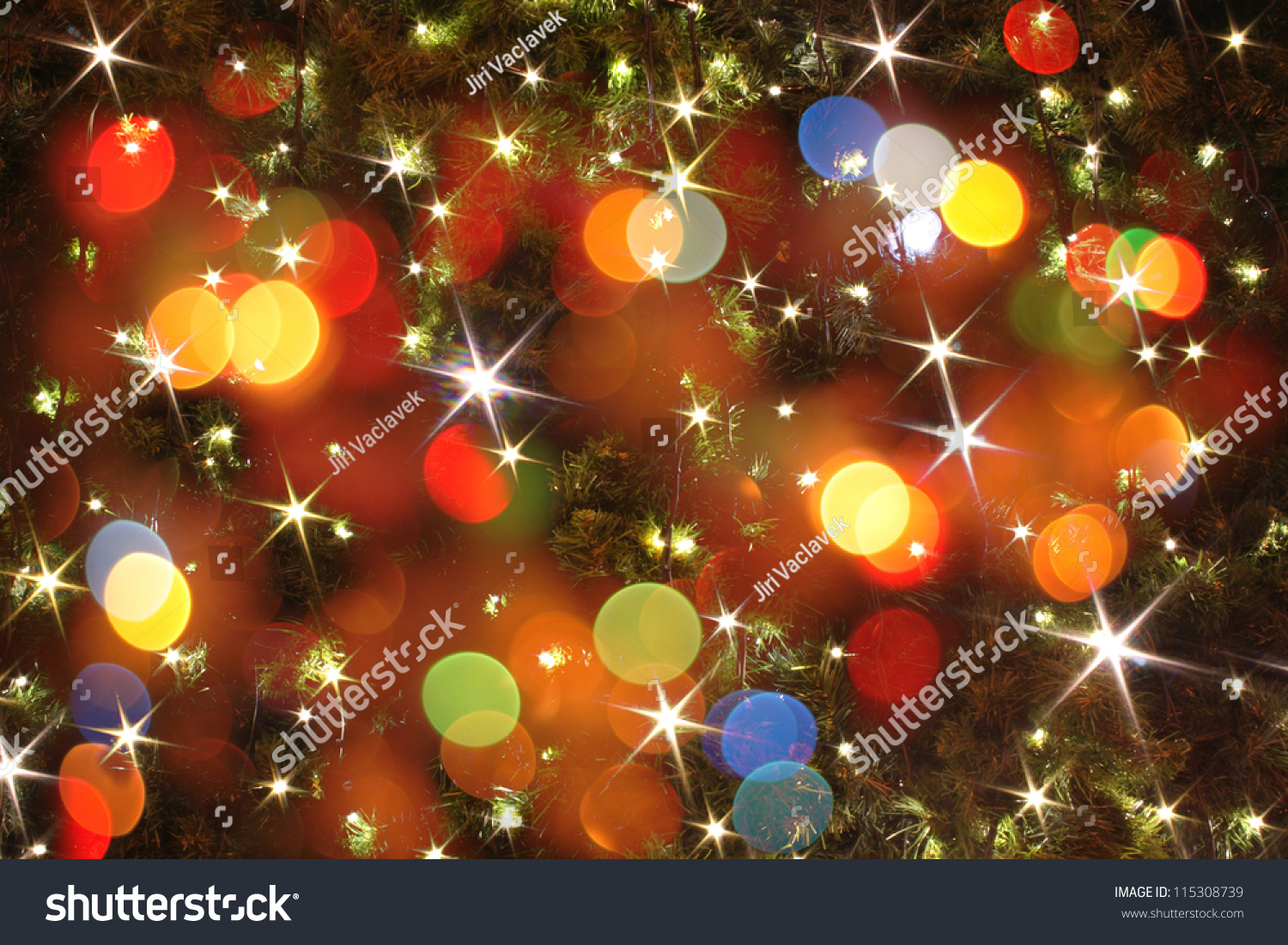 xmas texture as very nice christmas background from color lights