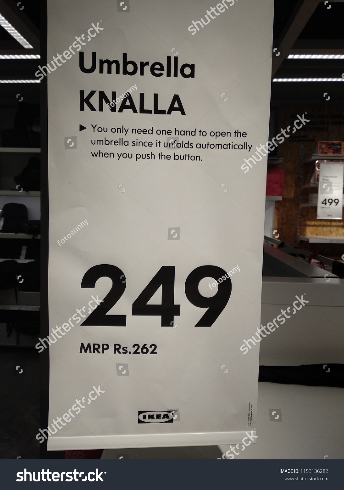 Hyderabad India 09th August 2018 View Inside Ikea Store Stock Photo