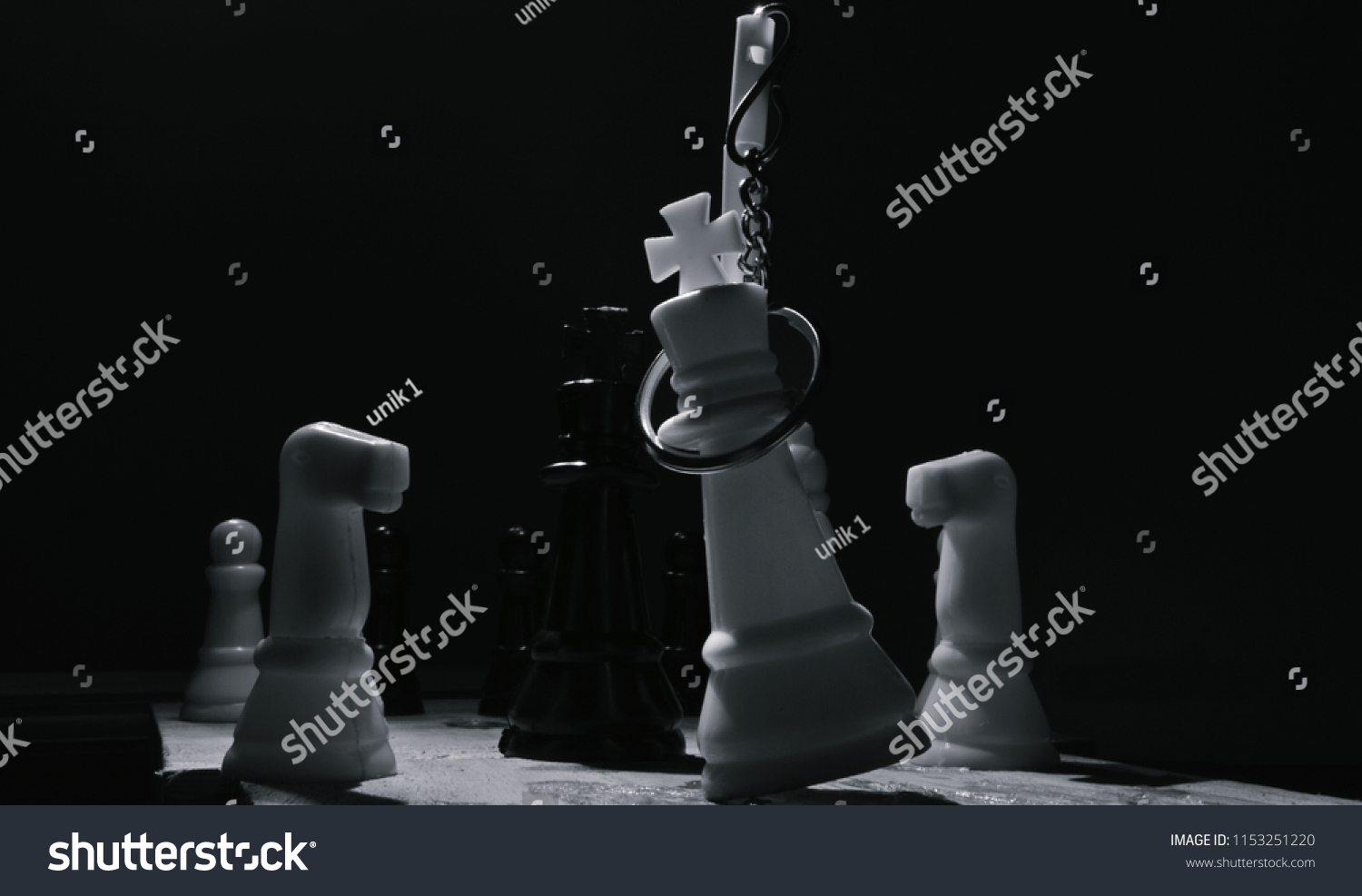 Creative black white photography chess pieces stock photo edit now