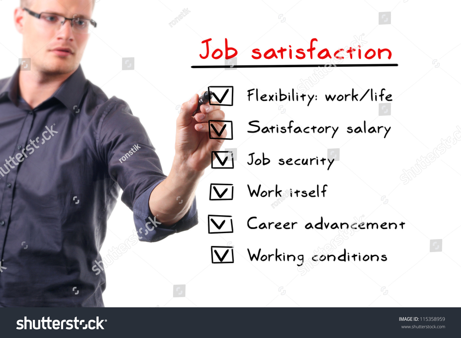 motivation and job satisfaction in benue Work attitudes and job motivation home - kayla weaver (fa16 002) 11 the job satisfaction-job performance relationship: a qualitative and quantitative review.