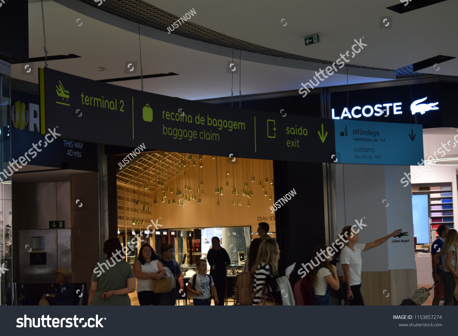9763766f703b1 Lisbon, Portugal  August 2018  Lisbon airport also known as Lisbon Portela  Airport,