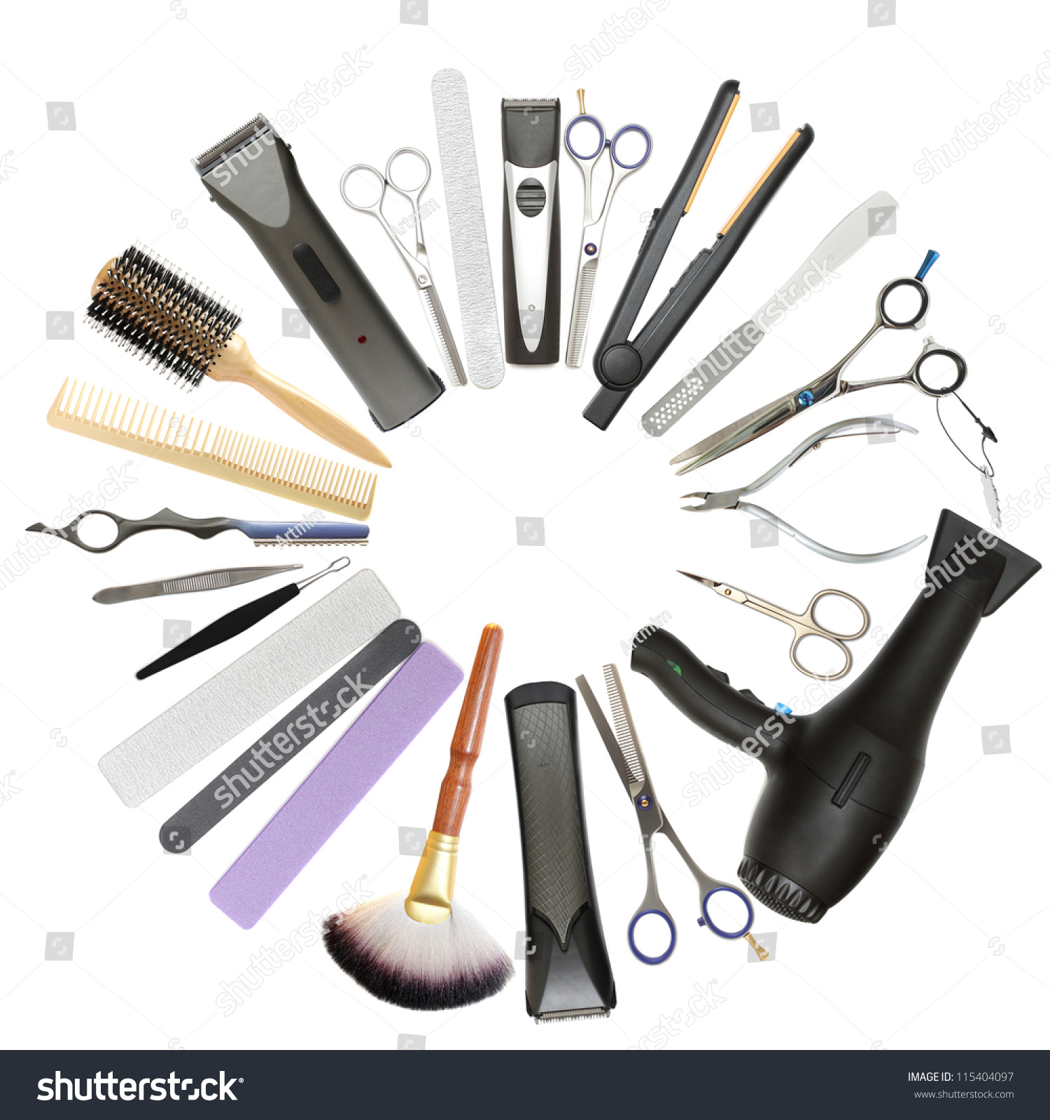 Beauty salon barbershop background professional for Accessories for beauty salon