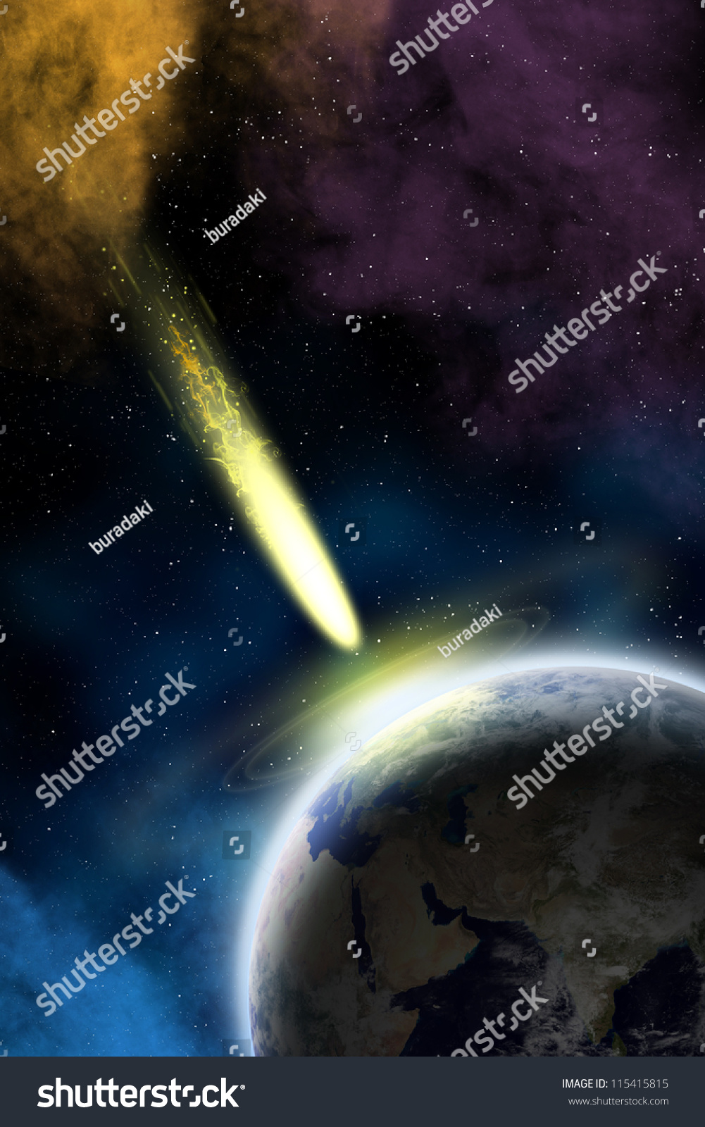 Earth space flying asteroid asteroid impact stock for Flying spaces