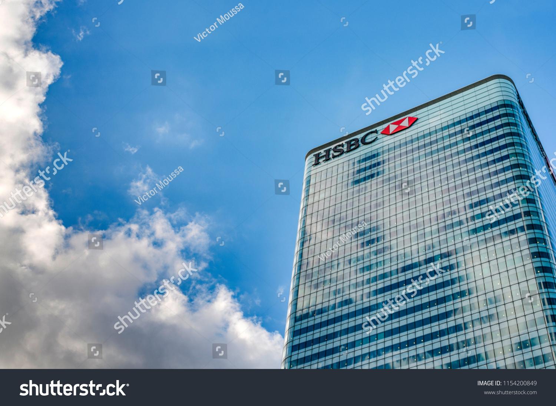 London Uk July 31st 2018 Hsbc Stock Photo (Edit Now) 1154200849