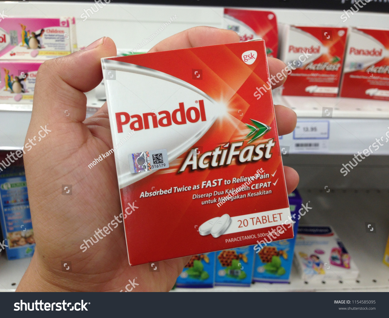 Melaka Malaysia August 12 2018 Boxes Panadol Glaxo Smith Kline Stock Actifast Of From Glaxosmithkline Gsk