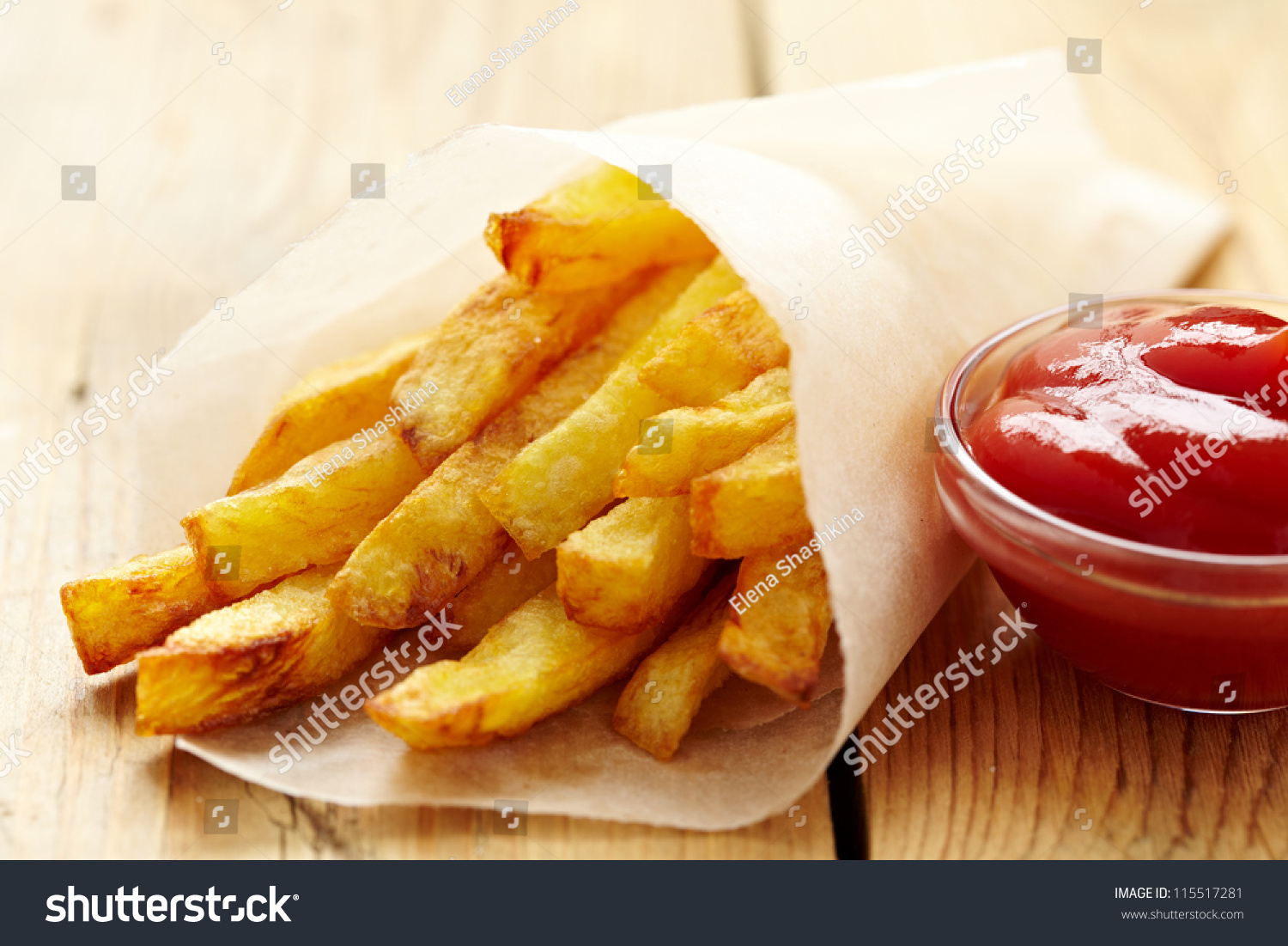 french fries with ketchup - photo #21