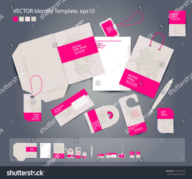 vector corporate design business folder business stock