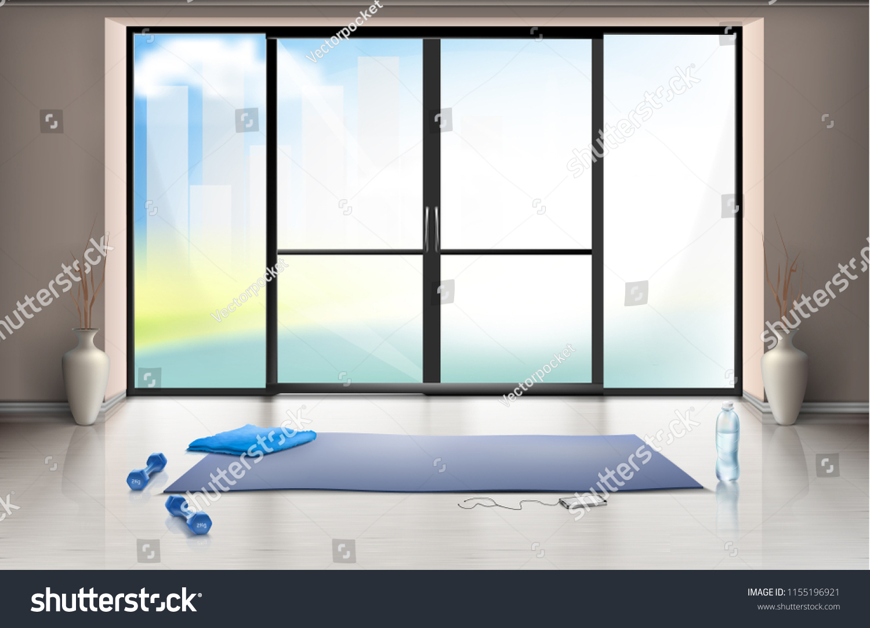 Sol Pour Salle De Sport image vectorielle de stock de image vectorielle maquette