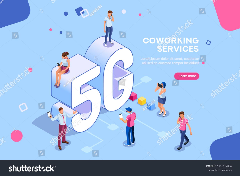 Internet Systems Telecommunication Service Wifi Broadcast Stock