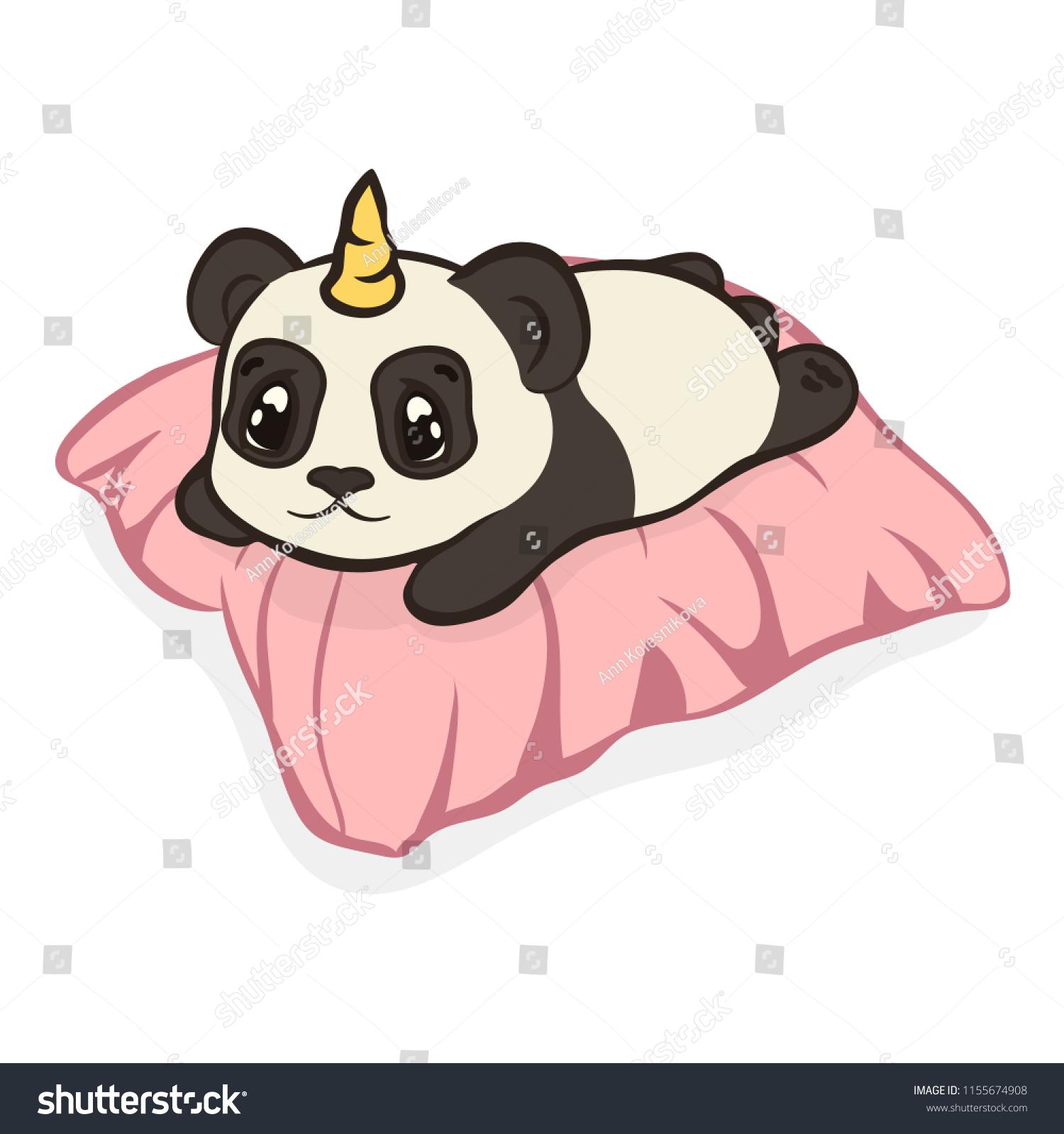 Cute Drawings Pandacorn