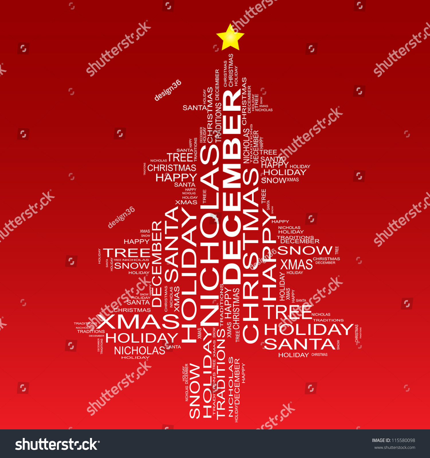 high resolution concept conceptual white christmas stock