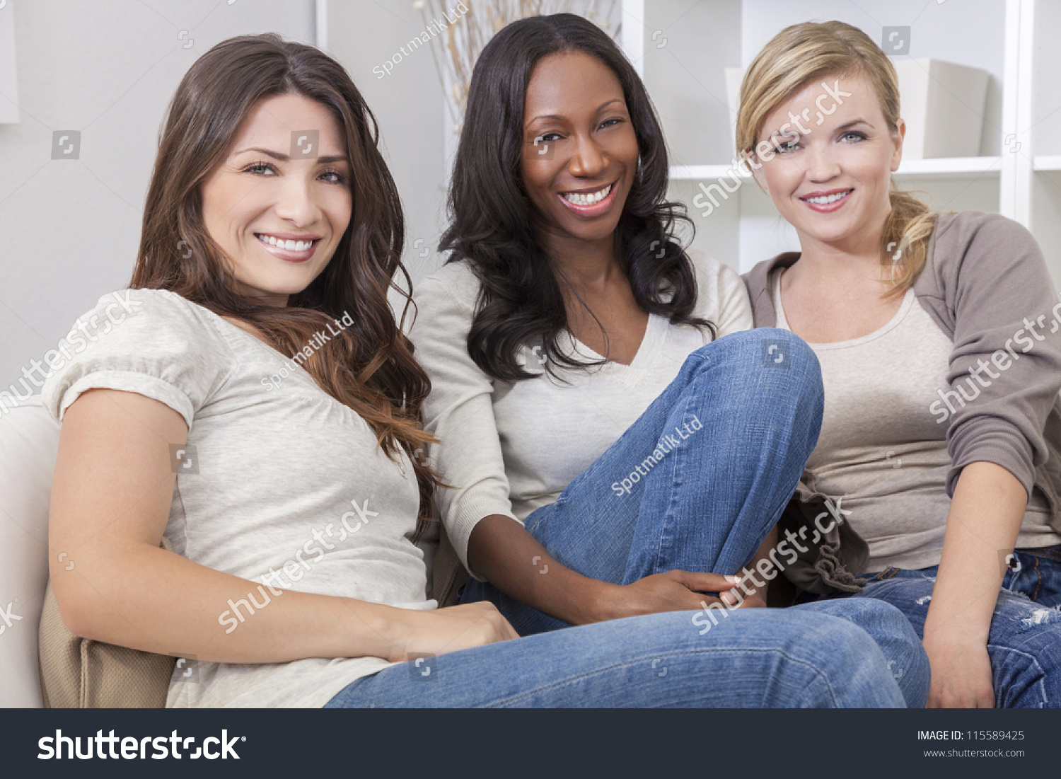 Picture of interracial women