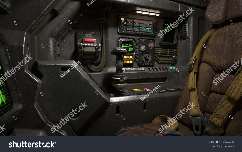 Science Fiction Aircraft Cockpit Picture