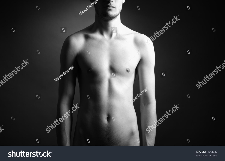 Фото голого мужчины в галстуке 13 фотография